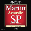 Martin SP 80/20 Bronze Light MSP3100 Acoustic Guitar Strings 012-054